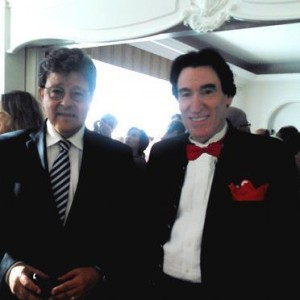 Avec S.E. l'ambassadeur d'Israel a Bruxelles